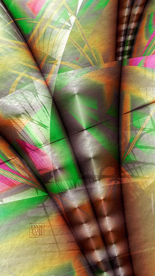 Dan Turner Digital Art - Flutes Of Osiris by Dan Turner