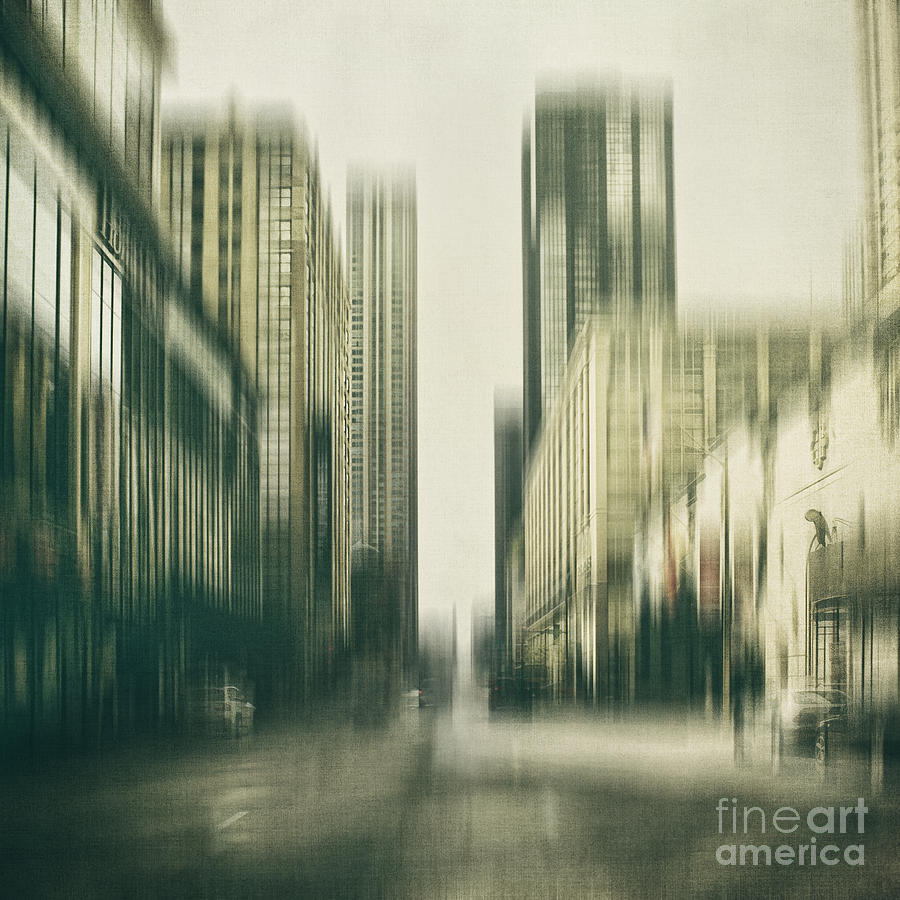 Chicago Photograph - Flux by Andrew Paranavitana