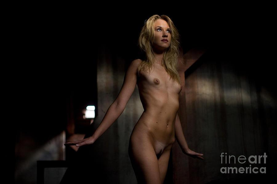 Sensual Photograph - Fly Angel by Olivier De Rycke
