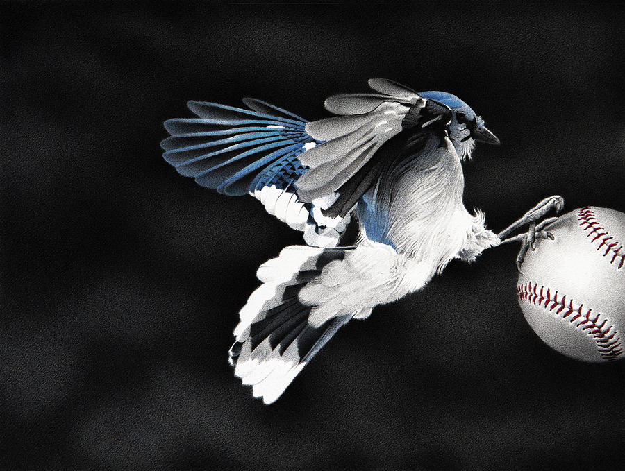 5th Inning- Fly Ball by Stirring Images
