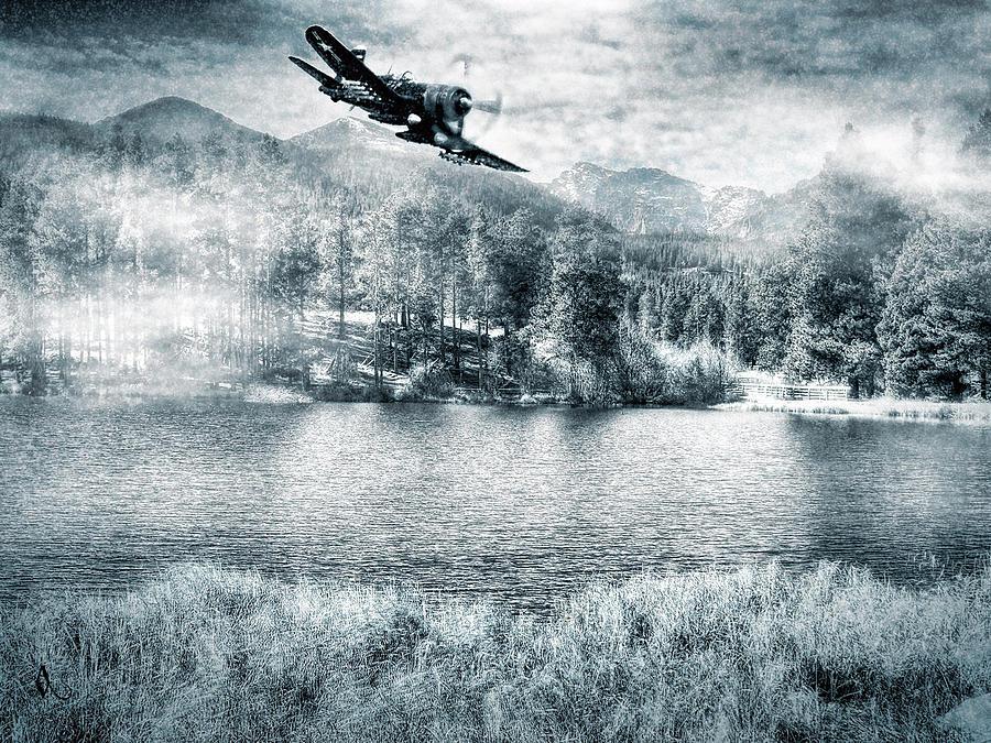 Scenery Photograph - Fly Boy by Adam Vance