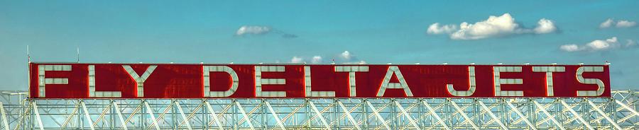 Fly Delta Jets Signage Hartsfield Jackson International Airport Atlanta Georgia Art Photograph
