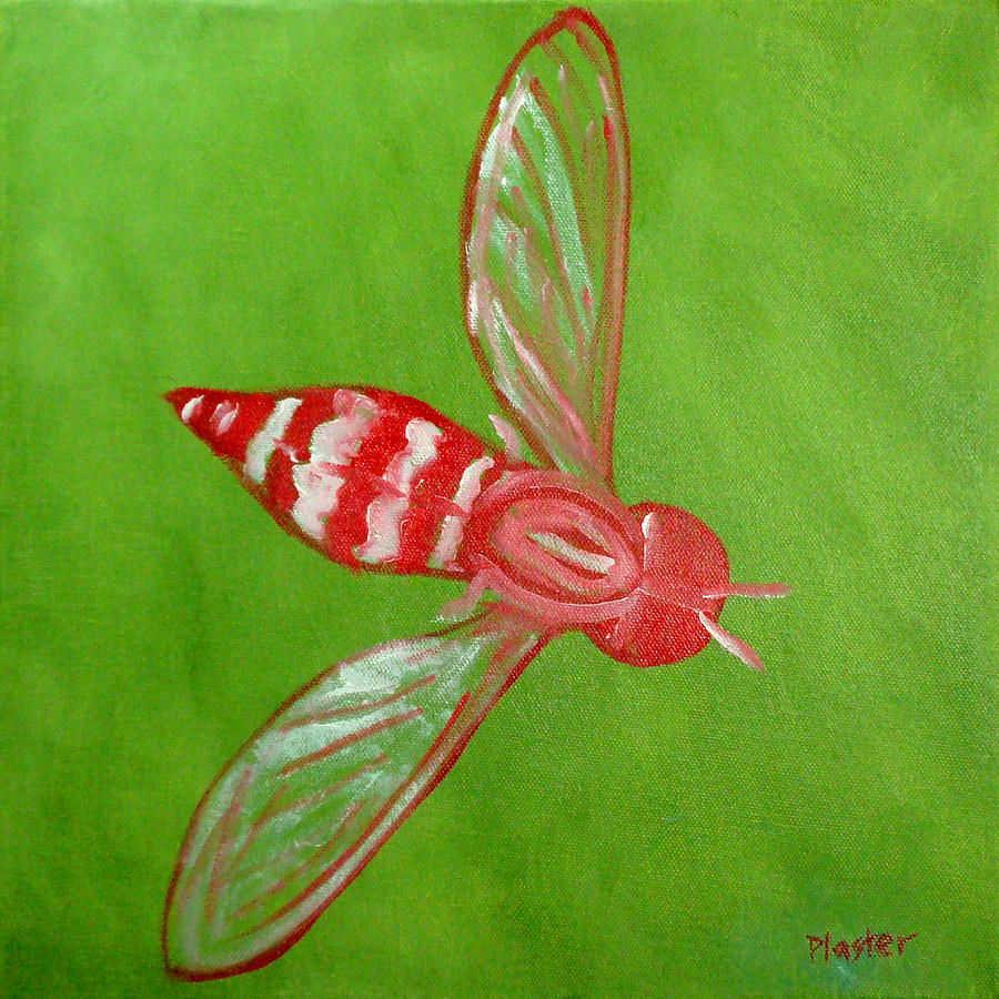 Flies Painting - Fly East by Scott Plaster