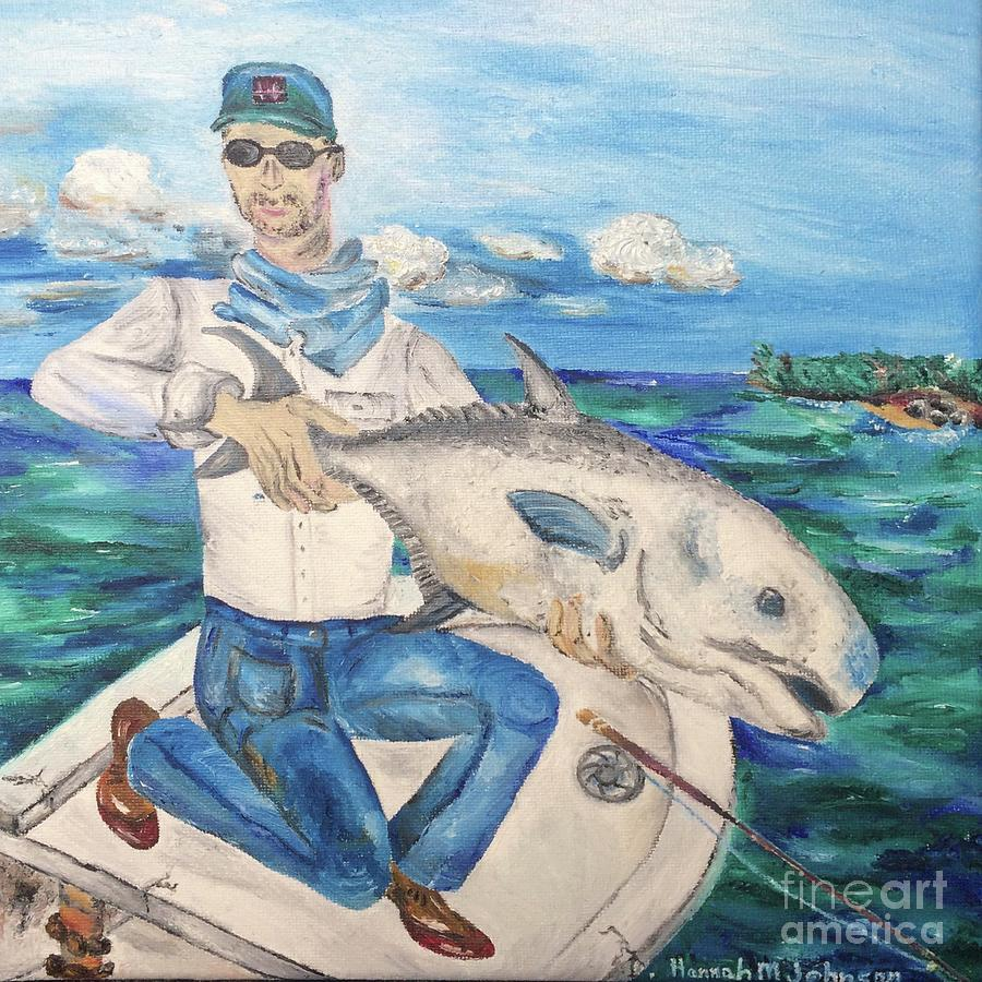 Fly Fisher Painting