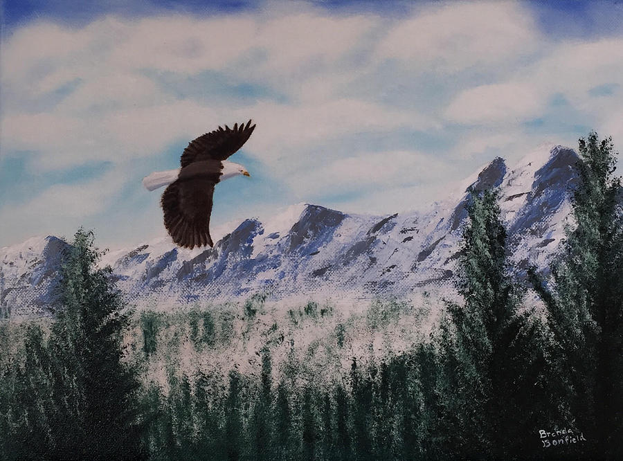Fly Like An Eagle by Brenda Bonfield