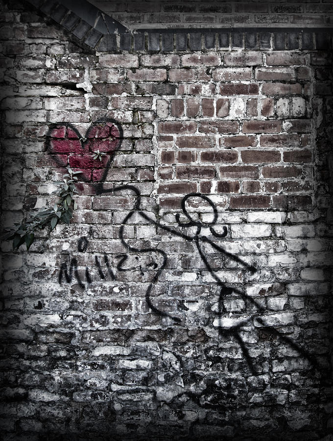 Graffiti Photograph - Fly Me To The Moon... by Russell Styles