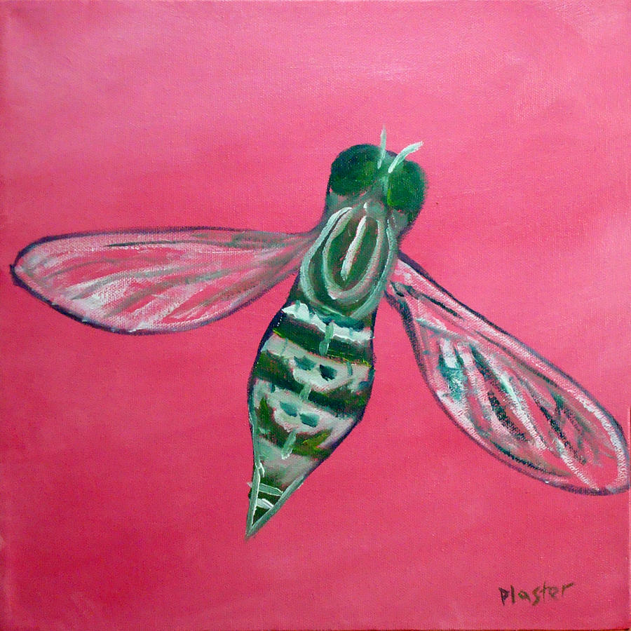 Flies Painting - Fly North by Scott Plaster