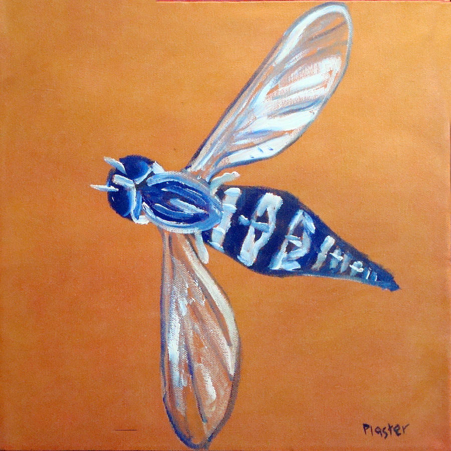 Flies Painting - Fly West by Scott Plaster