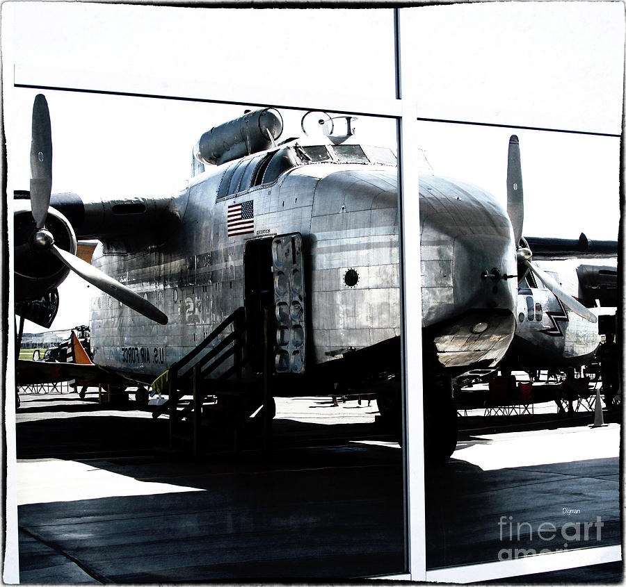 Airplane Photograph - Number Built 1,183 by Steven Digman