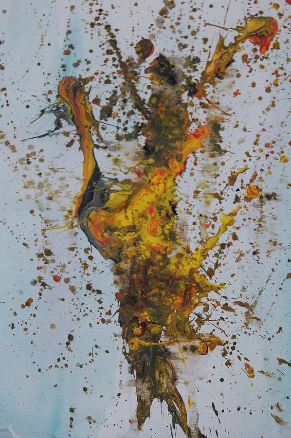 Splatter Painting - flying circus I by Josh Stuller