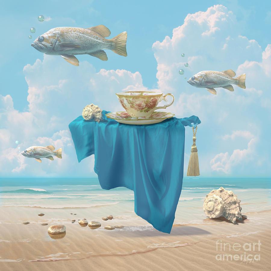 Flying fish by Alexa Szlavics