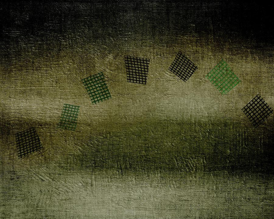 Flying Grid I V Painting