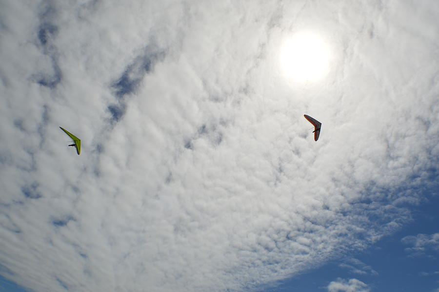 Sky Photograph - Flying High by Ekta Gupta