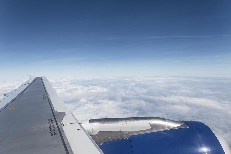 British Airways Photograph - Flying Like A Bird by David Pyatt