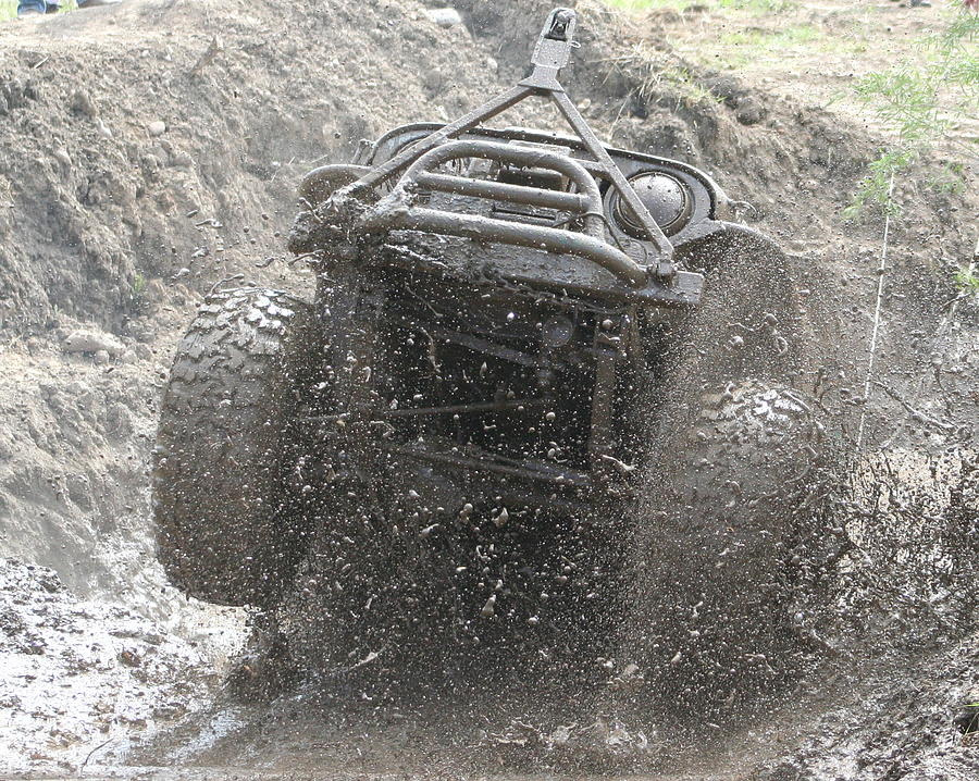 Flying Mud Photograph by JoJo Photography