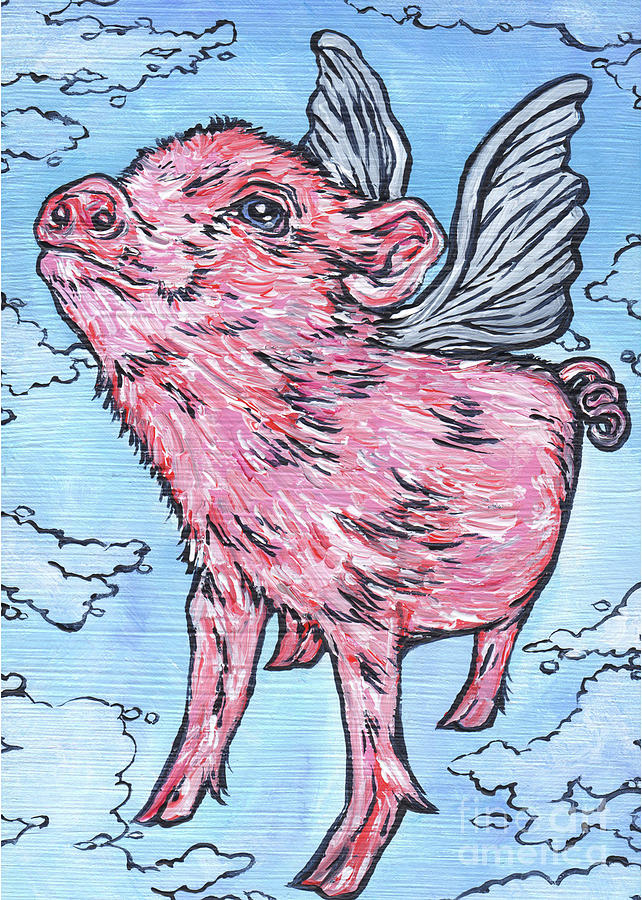 Flying Pig by Tracy Levesque
