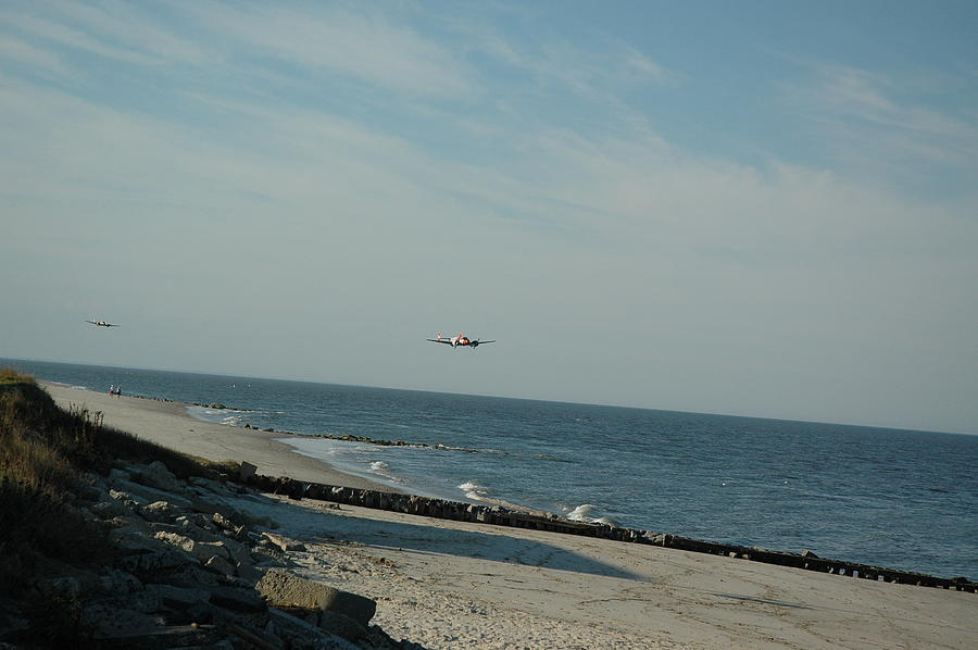 Beach Photograph - Flying The Beach by See Me Beautiful Photography