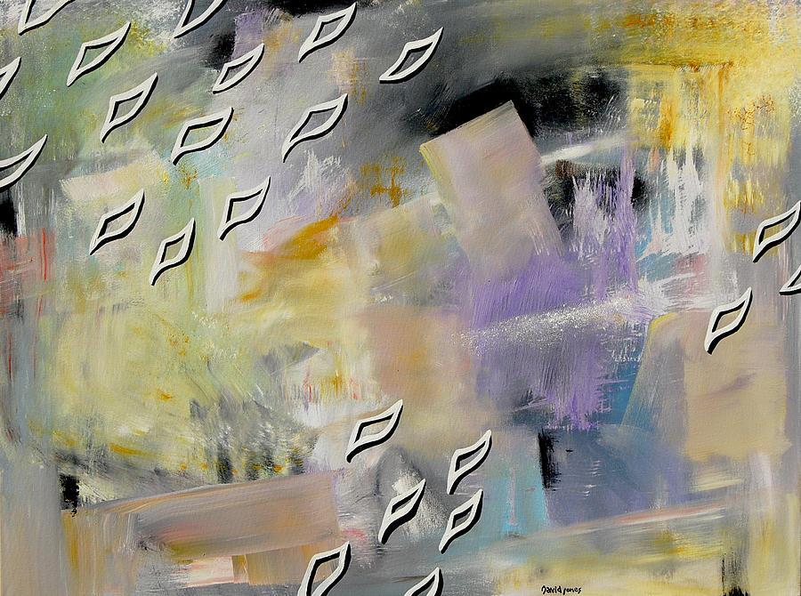 David Jones Painting - Flyover by Dave Jones