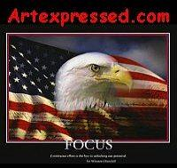 Focus Eagle Print by Unknown
