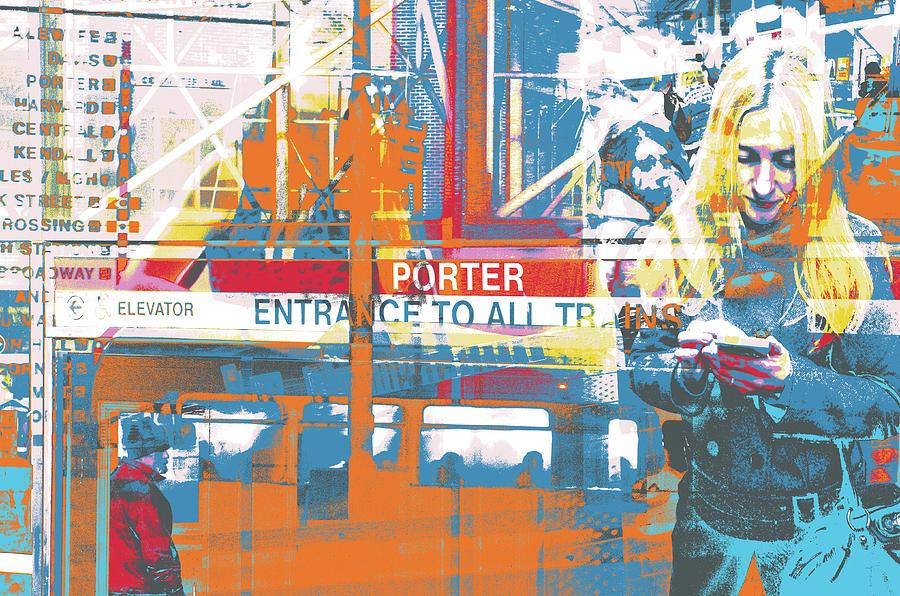Porter Mixed Media - Focus by Shay Culligan