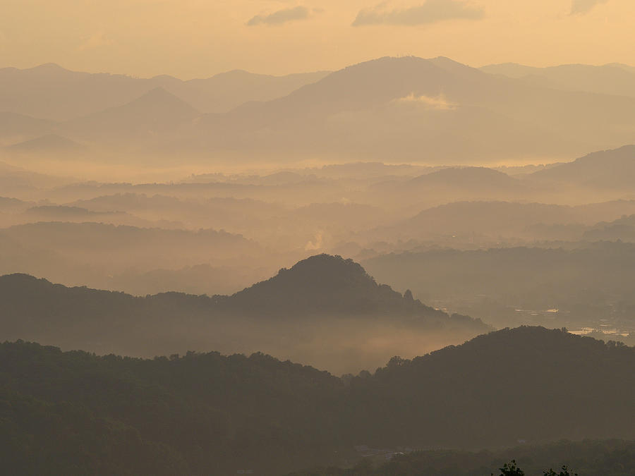 Nature Photograph - Fog In The Mountains by Itai Minovitz
