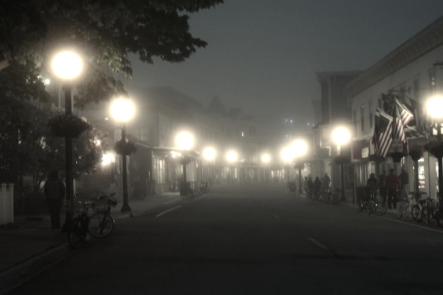 Fog In The Streets by Gary Smith