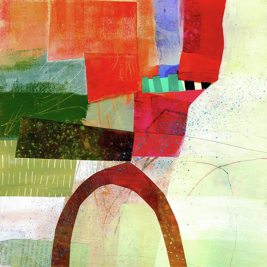 Jane Davies Painting - Fog Lifting #1 by Jane Davies