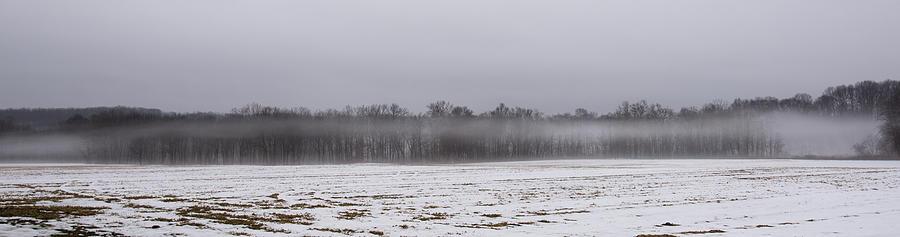 Fog Photograph - Fog Line by Kurt Shaffer