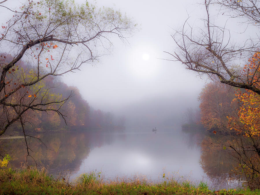 Fog On The Lake by Timothy Harris