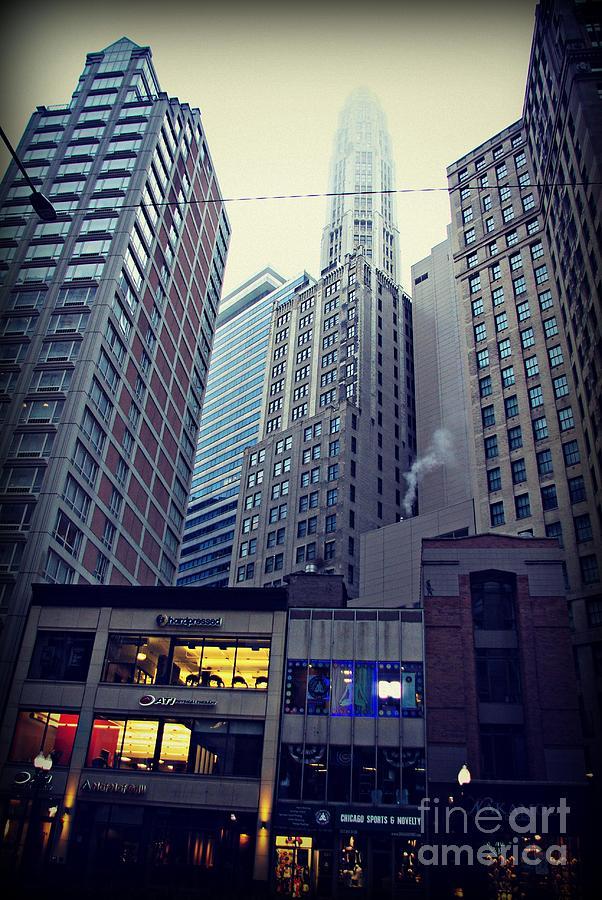 Fog On The Mile Photograph