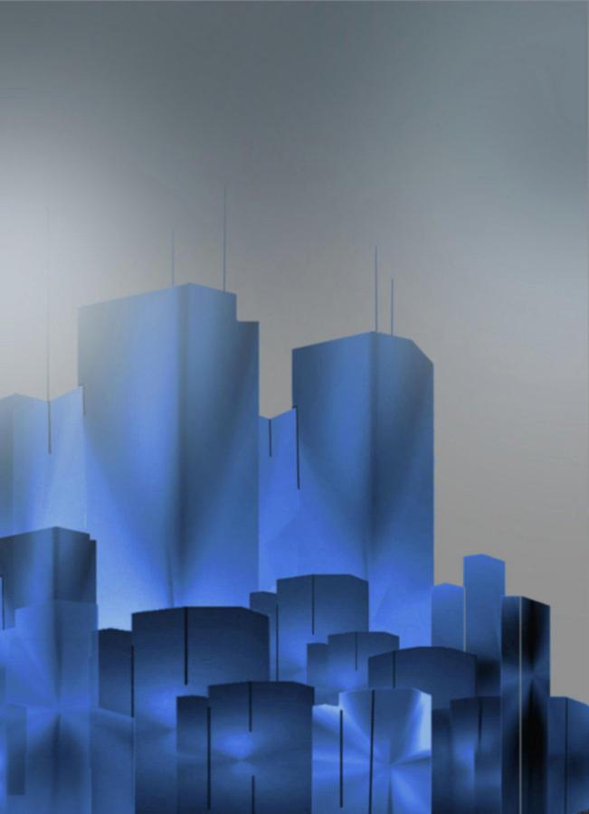 Fog Over The City Digital Art