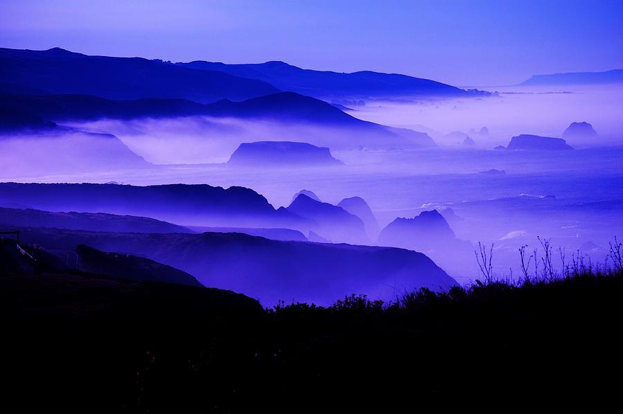 Fog Photograph - Fog Rising by Helen Carson
