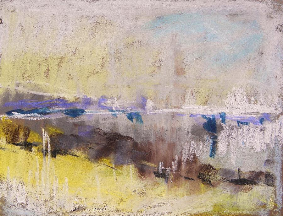 Abstract Painting - Fog Rising by John Williams