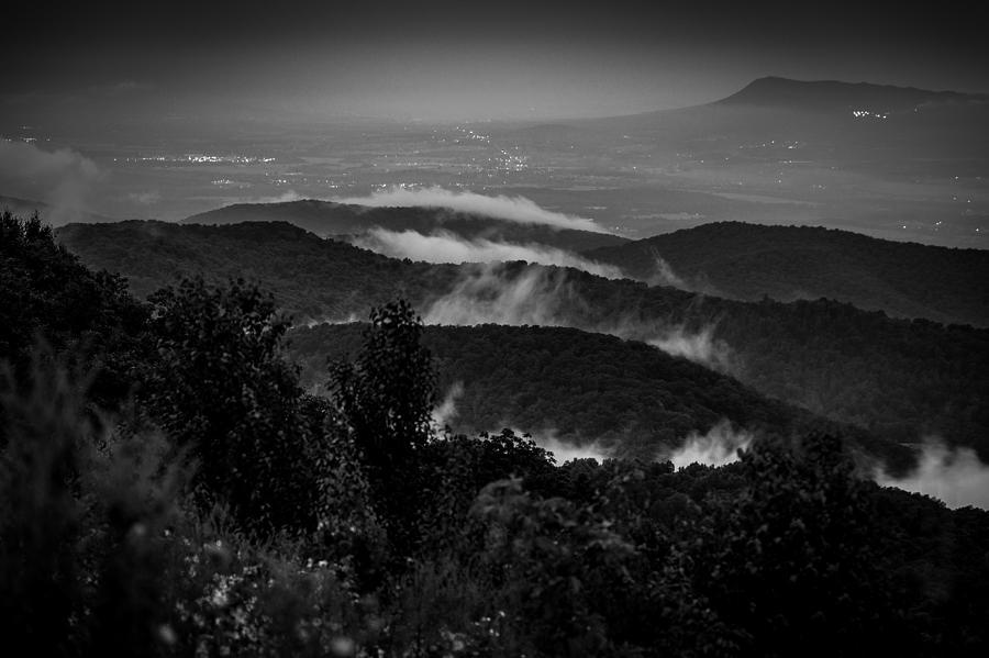 Travel Photograph - Fog Rolls In by Robert Davis