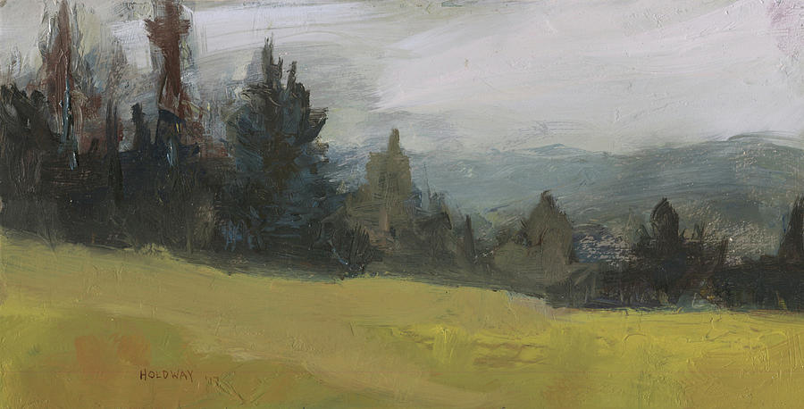 Foggy Hill by John Holdway