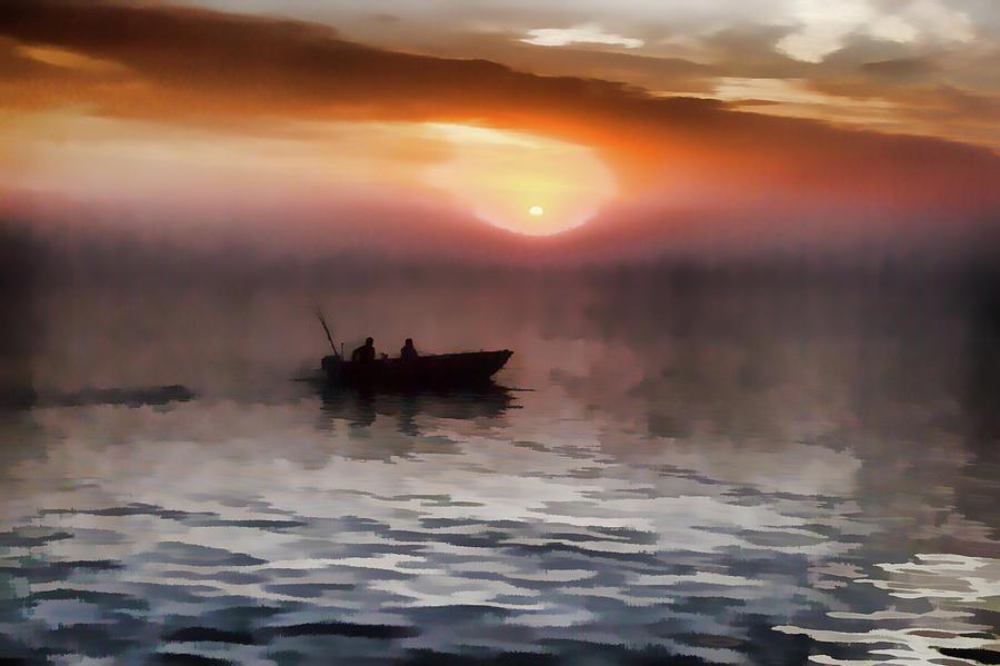 Foggy Morning by Carl Simmerman