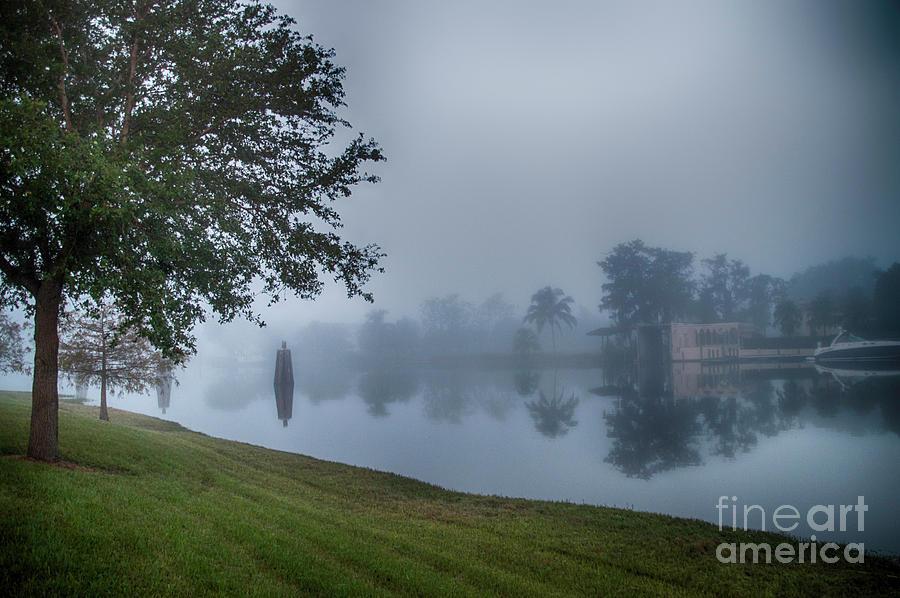 Fog Photograph - Foggy Morning In Alva Florida by Judy Hall-Folde