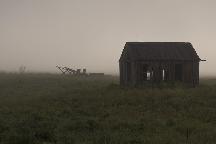 New Mexico Photograph - Foggy Morning  by John Higby