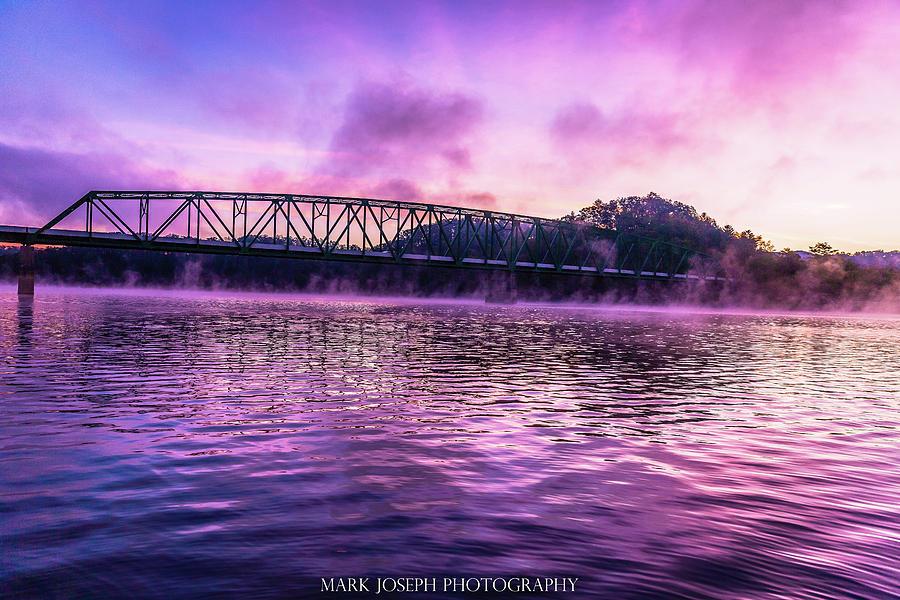 Fog Photograph - Foggy South Holston by Mark Joseph
