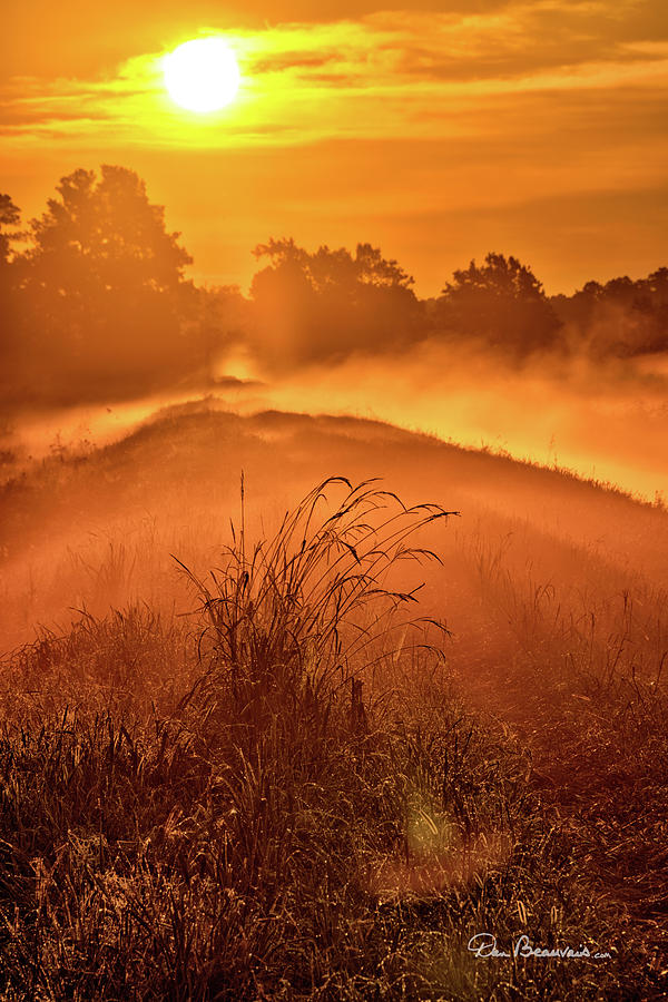Foggy Sunrise 8171 Photograph