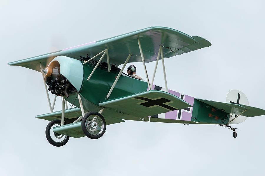 Fokker D.VI Overhead by Liza Eckardt