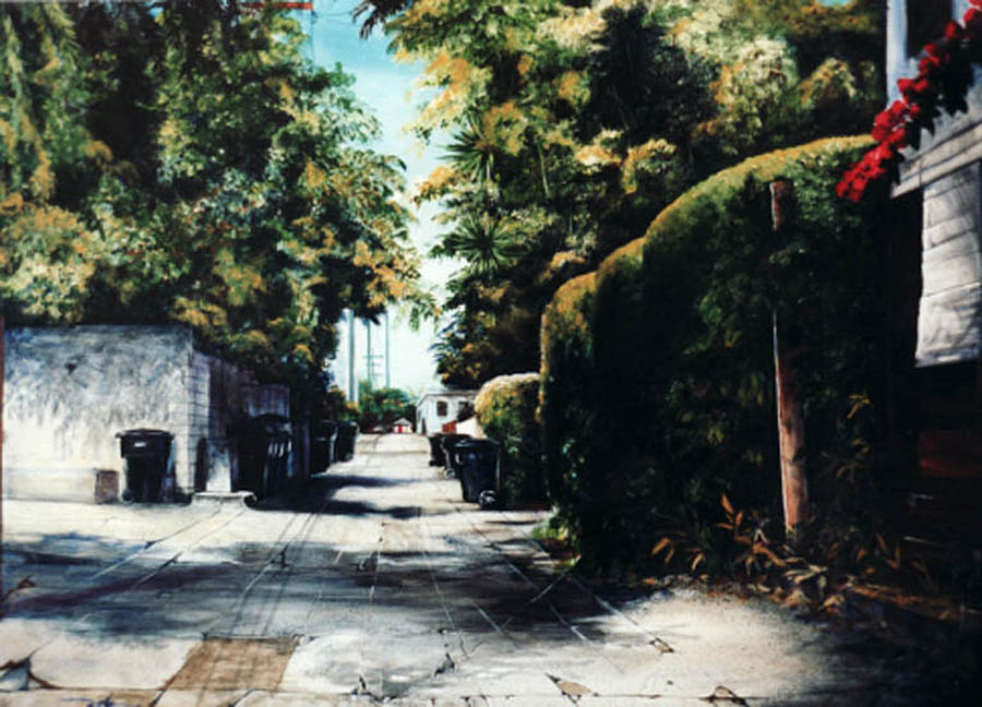 Cityscapes Painting - Foliage by Duke  Windsor
