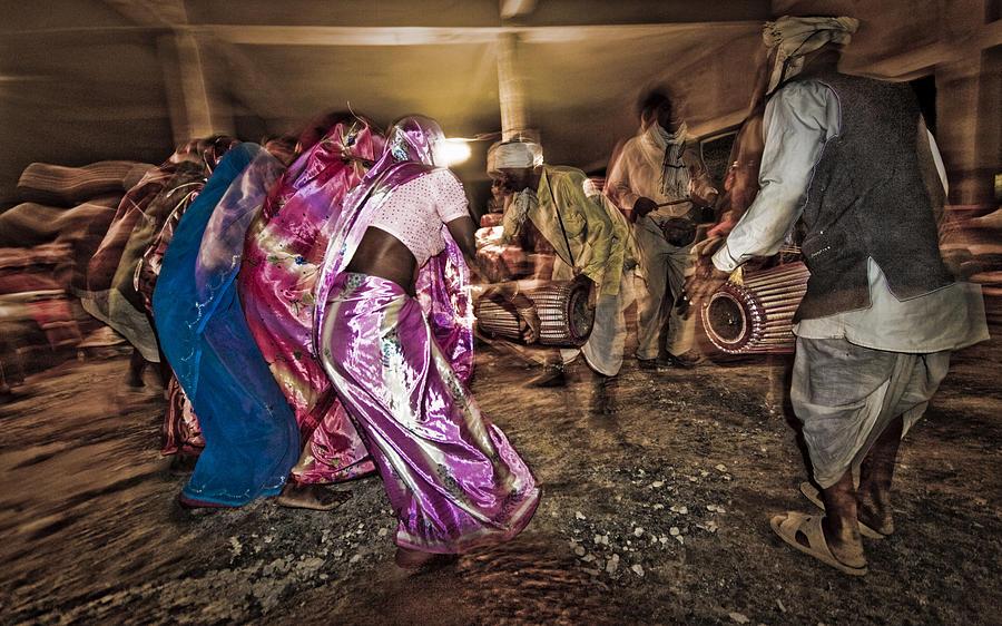Folk Photograph - Folk Dance by Hitendra SINKAR