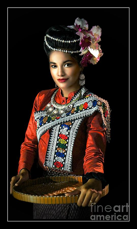 Fashion Photograph - Folk Dancer Of The North East by Ian Gledhill
