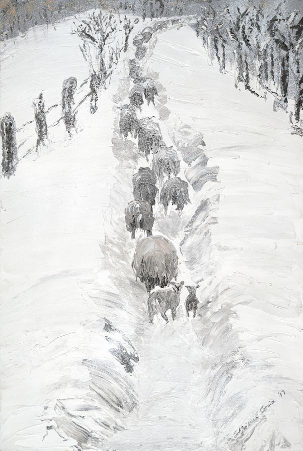Follow the flock by Ovidiu Ervin Gruia
