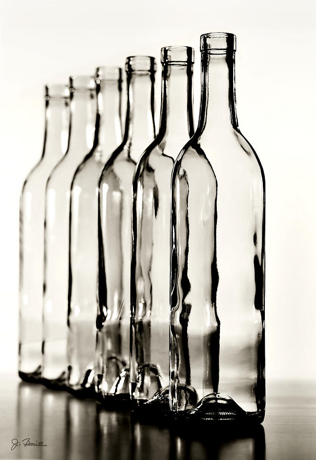 Bottle Photograph - Follow The Leader No. 2 by Joe Bonita