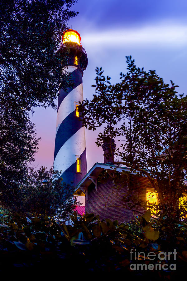 Lighthouse Photograph - Follow The Light by Marvin Spates