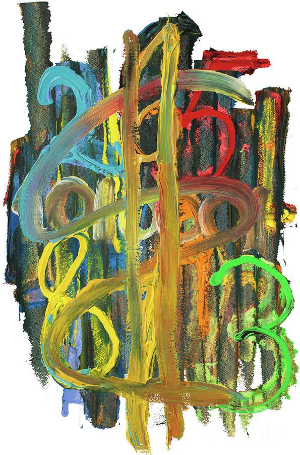 Money Painting - Follow The Money by Bjorn Sjogren