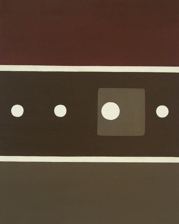 Brown Painting - Follow The Path by Sandy Bostelman