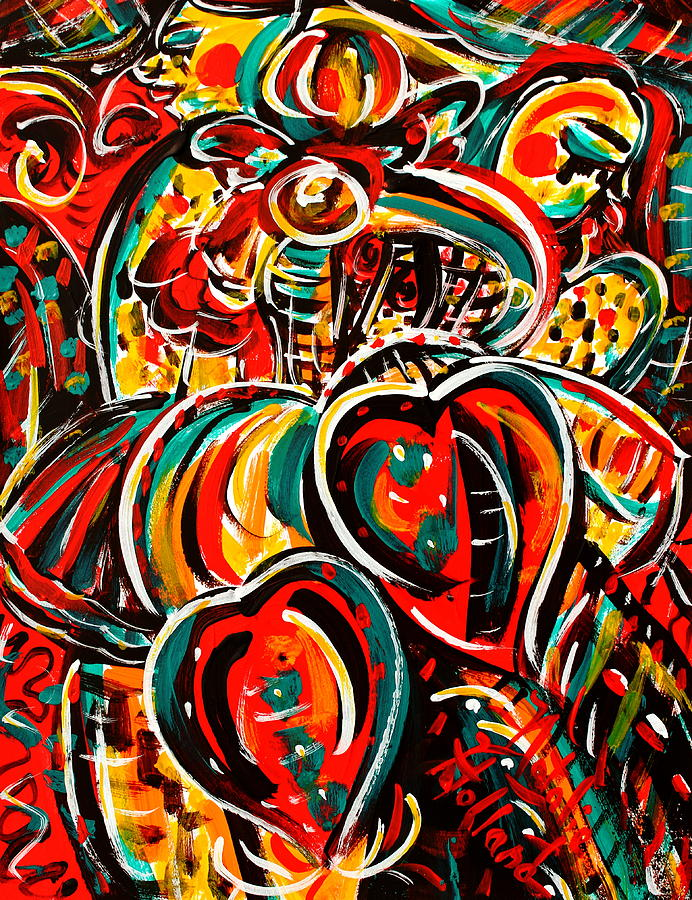 Expressionism Painting - Follow Your Heart by Natalie Holland
